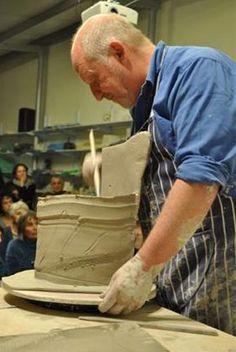 Ceramics by John Higgins at Studiopottery.co.uk - Demo, Israel 2012