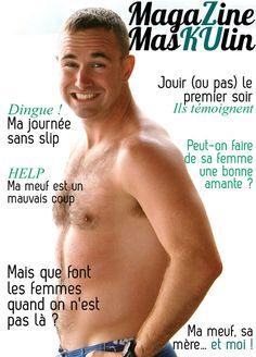 Si les magazines masculins ressemblaient aux nôtres... mag masculin1