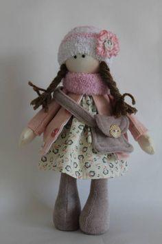 Boneca de pano Eva - Série Gente pequena