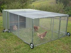 Master Chicken Tractor #McCallumMade