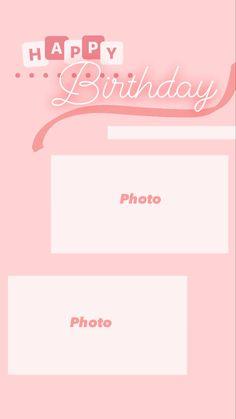 Happy Birthday Template, Happy Birthday Frame, Happy Birthday Posters, Happy Birthday Wishes Quotes, Happy Birthday Video, Happy Birthday Images, Birthday Photos, Birthday Captions Instagram, Birthday Post Instagram