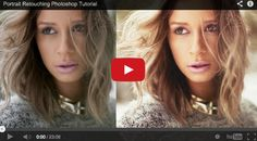 12 best tutorials for editing portraits: 02. Retouch and re-colour portraits