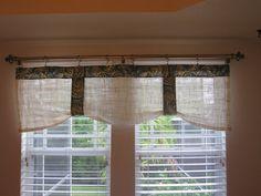 burlap valance window treatments | Tuesday, August 10, 2010 Burlap Valance, Valance Curtains, Burlap Window Treatments, Home Kitchens, August 10, Windows, Tuesday, Easy, Home Decor