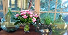 Quelques tulipes ... et c'est le printemps ...