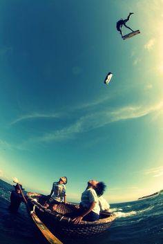 Kitesurf #duluxteal