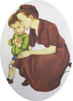 Eloise Wilkin illustrated so many sweet Little Golden Books.