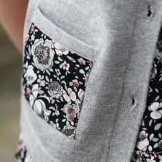In love with the floral print pockets on our Briony cardigan. Goes perfectly with our Poppy dress.
