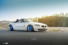 Video: Widebody Bagged BMW E85 Z4 Gets Retro Forged Wheels
