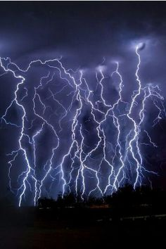 Arizona Lightning Storm #mywatergallery