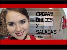 crepas dulces y saladas - como hacer la mezcla