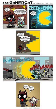 the GaMERCaT :: Pac it Up | Tapastic Comics - image 1