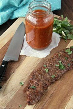 Mexican Steak Marinade, the best quick and easy beef marinade! Perfect for skirt steak, flank steak, or even pork and grilled chicken. Makes the best tacos and fajitas or eat it by itself for an easy dinner! Recipe @SnappyGourmet.com #SnappyGourmet #Marinade #Steak #Beef #Dinner #BBQ #Summer #recipes