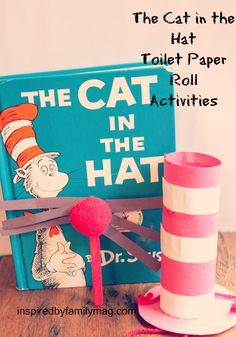 dr. seuss toilet paper roll kid crafts - perfect for the classroom, party or just for some fun at home!