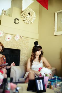 Circus-themed bridal shower