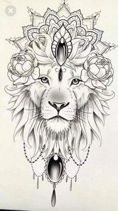 100 Trendy Tattoo Ideas for Your Best Inspired Year 2019 - Tattoos - . - 100 Trendy Tattoo Ideas for Your Best Inspired Year 2019 – Tattoos – … # - Lion Tattoo Design, Mandala Tattoo Design, Tattoo Designs, Mandala Lion Tattoo, Leo Tattoos, Animal Tattoos, Body Art Tattoos, Mini Tattoos, Tatoos