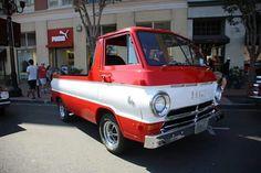 Dodge a100 pickup Dodge Trucks, Jeep Truck, Cool Trucks, Cool Cars, Little Truck, Dodge Van, Dodge Power Wagon, Flat Nose, Vintage Vans