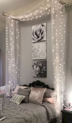 home bedroom ideas ~ home bedroom . home bedroom master . home bedroom cozy . home bedroom small . home bedroom modern . home bedroom ideas . home bedroom romantic . home bedroom indian Home Bedroom, Room Decor Bedroom, Modern Bedroom, Curtains For Bedroom, Diy For Bedrooms, Diy Projects For Bedroom, Master Bedrooms, Cheap Bedroom Decor, Warm Bedroom