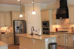 Kitchen- Cabinet color, granite color, layout