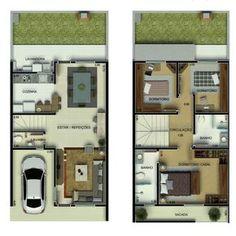 Para quem está pensando em construi, confira 10 plantas de casas até 75 mil para quem tem um orçamento nesse valor.