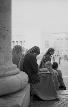 sisters in Vatican Square. We pray for an increase in vocations to the religious life! #yearofconsecratedlife #vocations