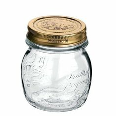 5 Oz Quattro Stagioni Jar by Bormioli Rocco. $1.99. 7760  Features: -Jar.-Perfect jar for storing and enjoying preserved foods through out the year.-Capacity: 5 ounces.-Glass storage canning.-Easy to use one piece lid.-Dishwasher safe. Collection: -Quattro Stagioni Collection.