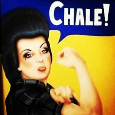 """Rosie The Riveter """"Chicana Style"""" ~ Los Mexicana Por Vida! Mexican American, Mexican Art, Mexican Quotes, Divas, Chola Girl, Cholo Style, Latino Art, Lowrider Art, Mexican Heritage"""