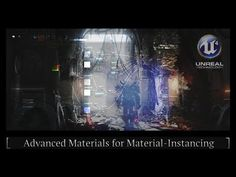 Unreal Engine 4 - Advanced Materials (Instancing) Tutorial - YouTube