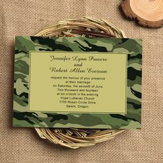 For those wedding couples who are enthusiastic about country style as well as something unique and special, a camouflage  theme could be a great choice. Futhermore, It would be super  stylish and beautiful  to add pin...