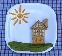 Little House on Snow Pea Lane #kinderen #eten #kinderdiner