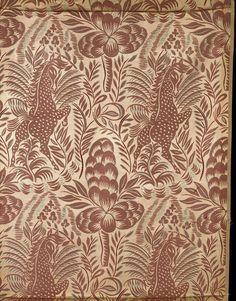 Raoul Dufy  -  Pegasus, 1919  Furnishing fabric
