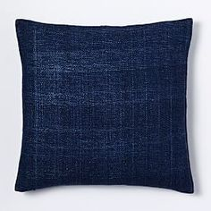 Texture Stitched Pillow Cover - Charcoal