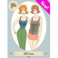 New PDF pattern from Sew Over It: the Silk Cami, get it here!