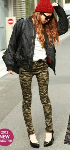 Military look for $30 http://global.rakuten.com/en/store/moonbud/item/452/