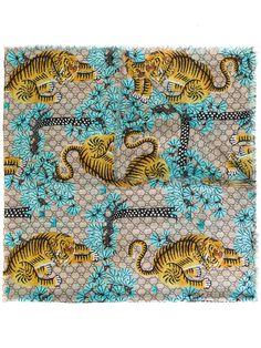 Gucci Gucci Bengal printed shawl