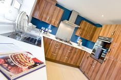 The kitchen in The Canterbury at Charlton Hayes in Bristol | Bovis Homes