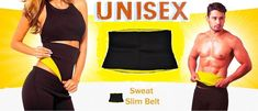 Well, all you need is a Sweat slim belt that will optimize your workout session by making it more effective. This Hot Shaper belt is suitable for men and women. Just within few days, you can see visible results. It targets areas such as abdomen and waist.