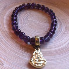 Pulseira Ametista c/ Buda via roots shop. Click on the image to see more!