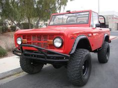 1969 FORD BRONCO CUSTOM SUV Awesome to tow using good Towing Accessories. http://4wheelonline.com/towing
