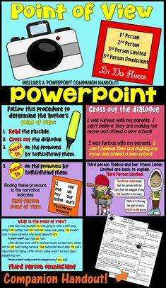 Author Point Of View Worksheets