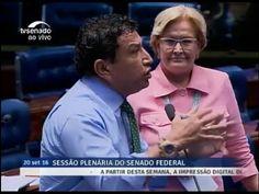 """Letter to the world so that they understand that it is not a blow -  IMPERDÍVEL! Magno Malta e Ana Amélia Destroem Lula pondo um FIM em """"uma ..."""