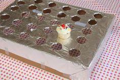 transporting ice cream cone cupcakes