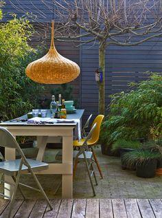 Stylish contemporary garden | Purple Area
