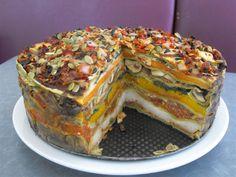 Arrowtown NZ Bakery's vegetable stack.  http://www.annabelchaffer.com/categories/Dining-Accessories/