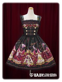 Alice and the Pirates - Electric Circus in the Moonlight Night JSK I - Black or red