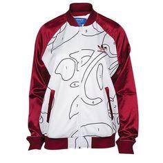 d059f91e82b06 adidas Rita Ora Jacket Superstar Supergirl Track Sweat Shirt Firebird Women  Sz M   eBay
