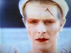 1980 - David Bowie from Ashes To Ashes video 80s (photo by Brian Duffy).