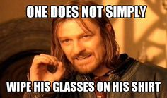 This should be glued to the inside of all eyeglass cases. LOL!