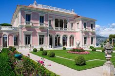 Villa Rothchild - cap Ferrat south of France - stunning place to visit
