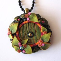 Hey, I found this really awesome Etsy listing at https://www.etsy.com/listing/197412627/green-fairy-door-necklace-pixie-portal
