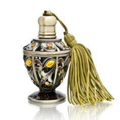 Amber with Tassle Decorative Perfume Bottle Model No. PB-782 Welforth, To SEE or BUY just CLICK on AMAZON right here http://www.amazon.com/dp/B0057UU3UK/ref=cm_sw_r_pi_dp_d.Xvtb1PEDXDX7E8